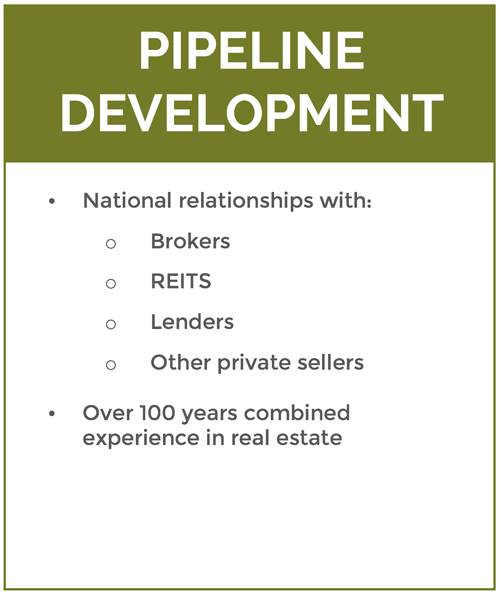Pipeline Developent